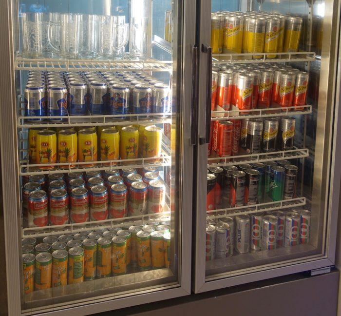 SATSプレミアラウンジ 冷蔵庫