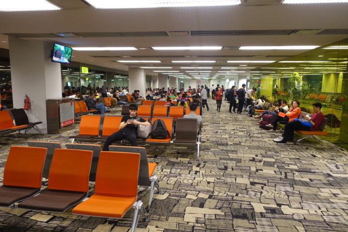 チャンギ空港ターミナル3ゲート