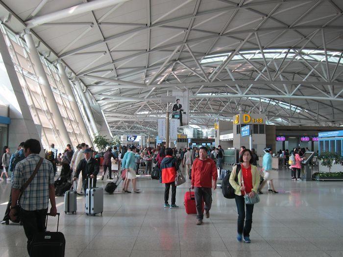 韓国ソウル 仁川国際空港 チェックインホール