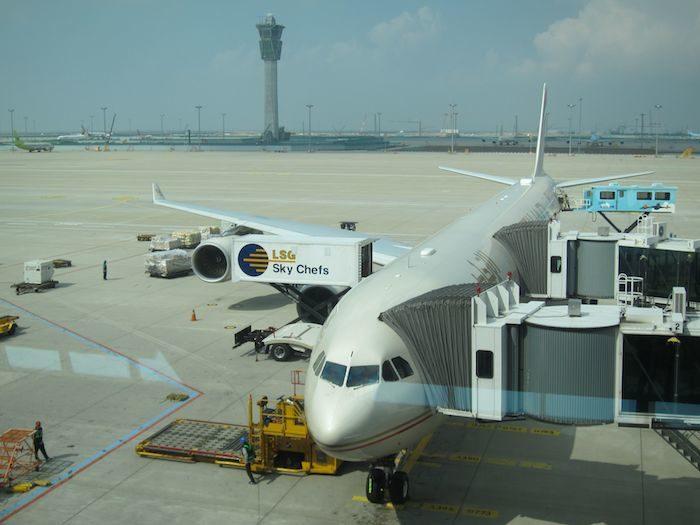 韓国ソウル 仁川国際空港 中国南方航空A340A600