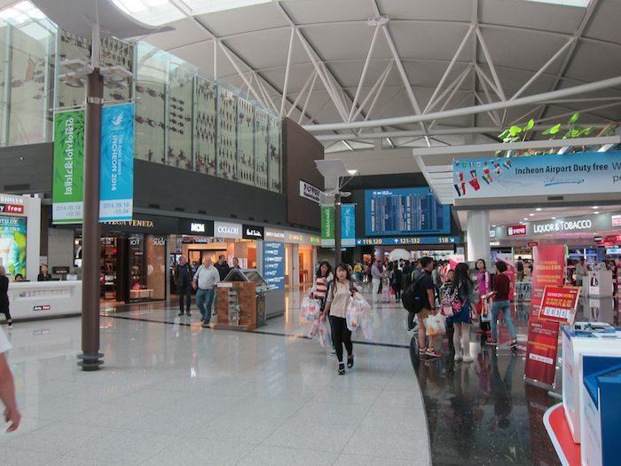 韓国ソウル 仁川国際空港 サテライトコンコース