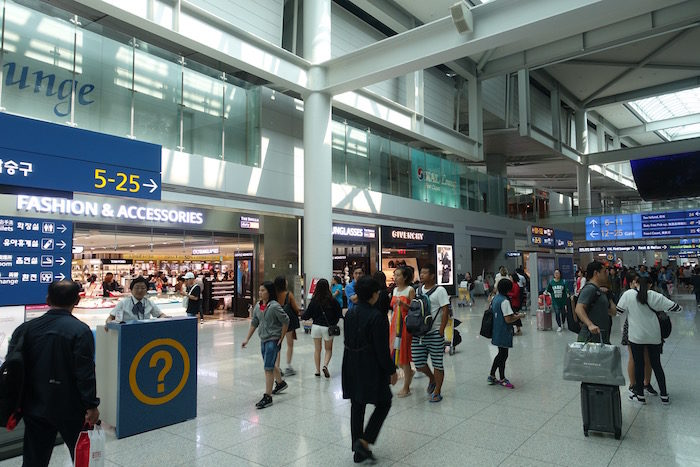韓国ソウル 仁川国際空港 ターミナル1